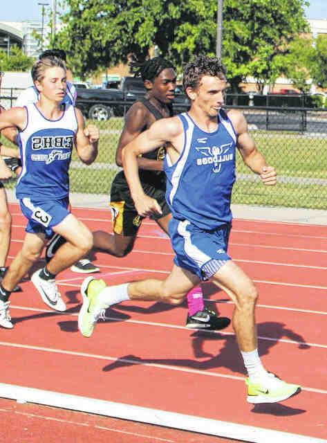 Quel athlète est champion olympique sur la distance de 3460 mètres ?